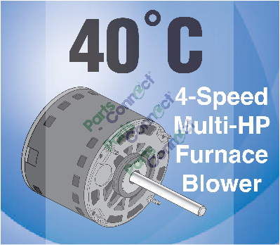 PC3467 40C 4SPD Multi Blower