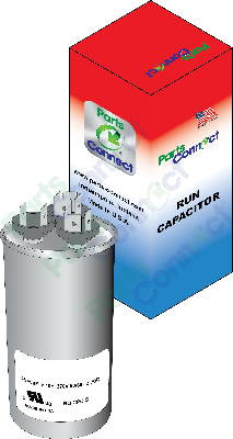 Round Capacitor with Box USA